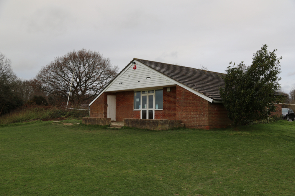 Club House at Chailey Sports Ground (under renovation)